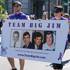 TBJ group photo @ PurpleStride